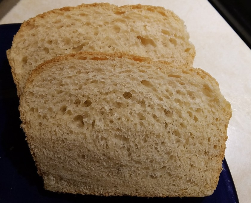 Slice of homemade bread from HouseofIngrams.com