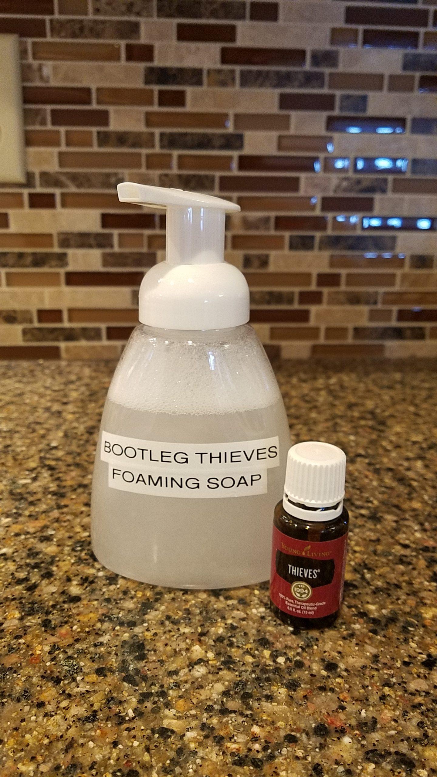 Bootleg Thieves Foaming Soap