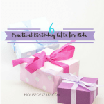 Six Practical and Personalized Gifts for Kids