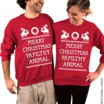 couples ya filthy animal sweatshirts