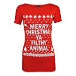 ya filthy animal women's tshirt