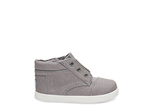Ash canvas TOMS Paseo toddler shoe