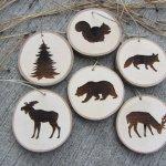 woodland-christmas-wood-slice-ornaments