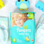 Sanity Savers With The NEW Pampers Baby Dry Diapers
