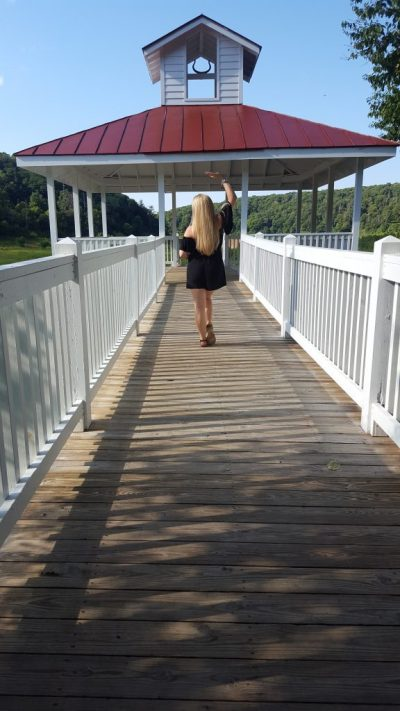 Board walk Mountain Lake Lodge | Kellerman's Mountain House | Dirty Dancing Resort