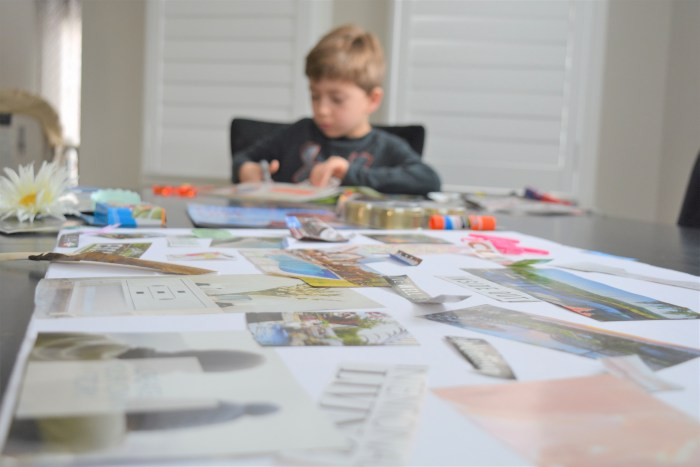How to make a family vision board