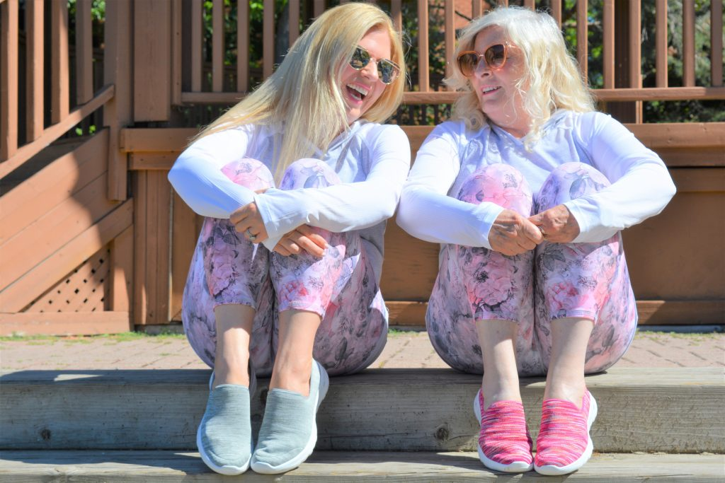 Skechers Canada GoWalk Joy | Mom-Daughter Date | Mom Twinning
