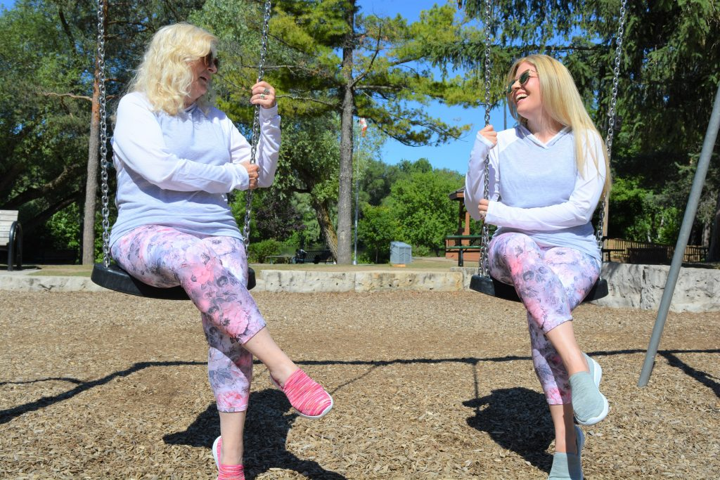 Skechers Canada | GoWalk Joy | Mom-Daughter Date | Mom Twinning