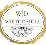 White Dahlia Stress Free Interior Design