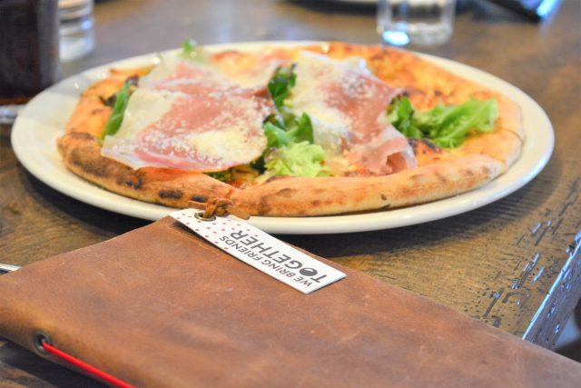 Secondo Prosciutto & Truffle Pizza.MidiCi.Market & Co. House of Kerrs