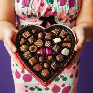 Heart-Box-Purdys Chocolates