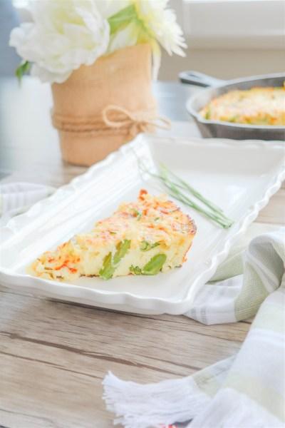 Easy Asparagus Recipe | Simple Asparagus Frittata Recipe | Spring Brunch Recipe | Easy Italian Recipes | Family recipes