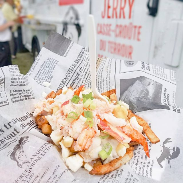 Poutine Homard Quebec by Chef Jerry Ferrer Food Truck