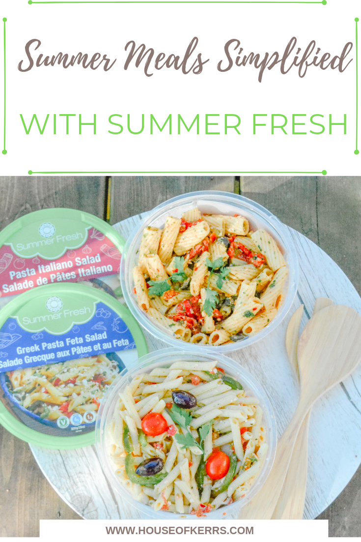Summer Meals Simplified with Summer Fresh | Summer Sanity Savers | Cottage Hacks