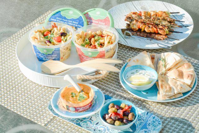 Mediterranean Feast Ideas | Summer Fresh | Cottage Food ideas | summer BBQ menu