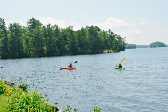 kayak the Trent Severn Waterway