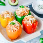 Tex Mex Stuffed Peppers Recipe | La Cucina di Kerrs | Healthy Family Meals | Simple Recipes
