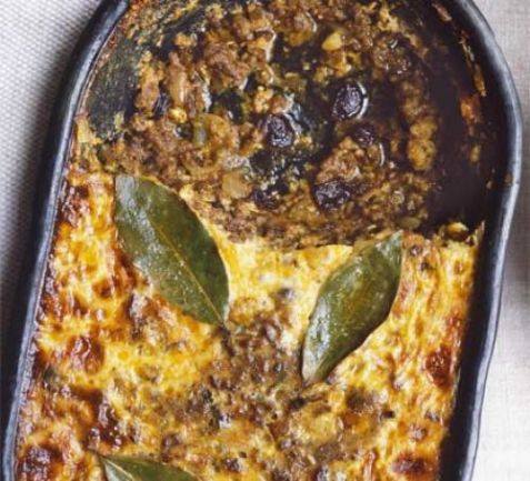 Bobotie South African Recipe