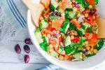 Mediterranean Chickpea Village Salad