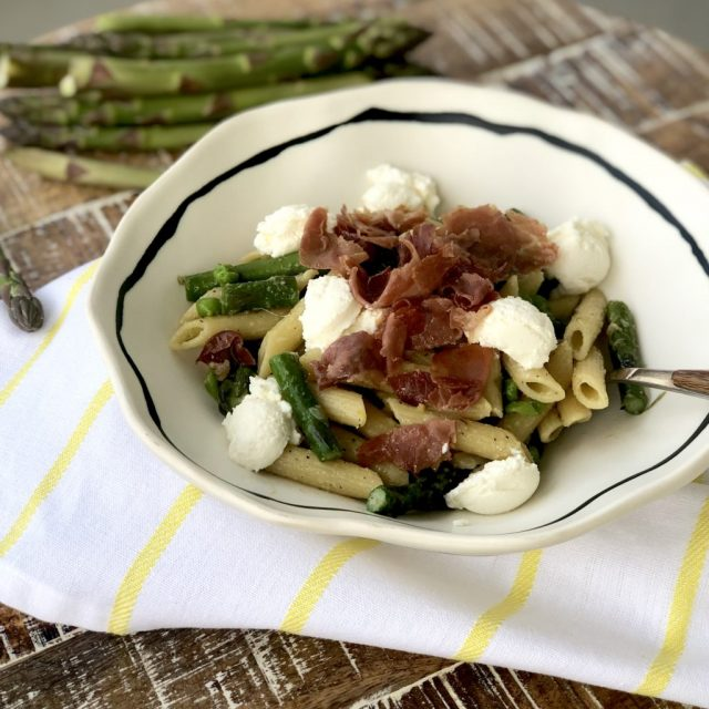 asparagus pea ricotta penne recipe leftover makeovers