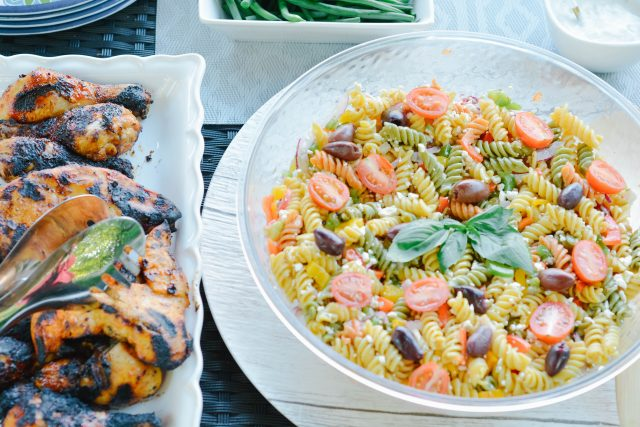 Greek Pasta Salad Recipe HouseofKerrs.com