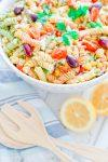 Summer Greek Pasta Salad