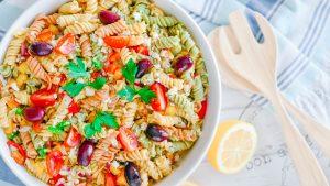 La Cucina di Kerr's Signature Greek Pasta Salad Recipe - perfect for Summer dining