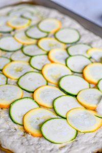 how to make zucchini pizza