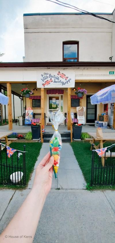 Ye Olde Little British Sweet Shoppe Little Britain, Ontario