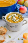 Apple Butternut Squash Sheet Pan soup