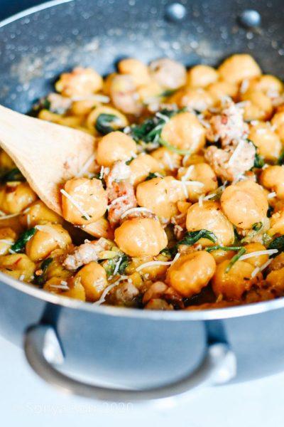 Butternut Squash & Turkey Gnocchi Recipe.La Cucina di Kerrs. Copyright HouseofKerrs.com