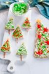 Christmas Tree Pita and Flatbread Appetizer | La Cucina di Kerrs