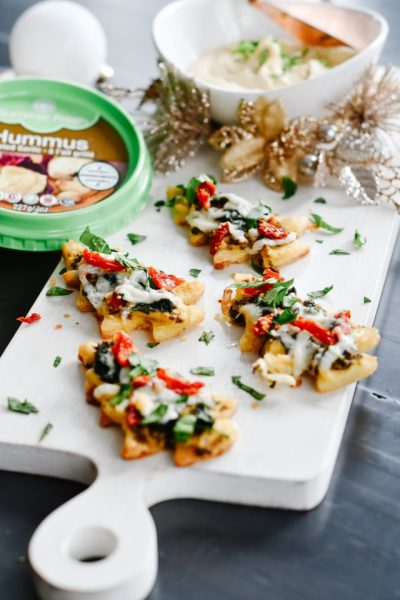 Christmas Tree Shaped appetizer