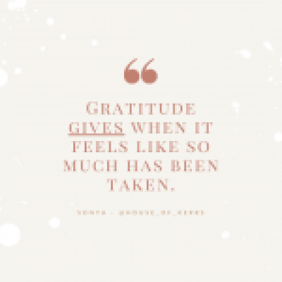 Gratitude Quote HouseofKerrs.com