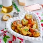 Easy Blushing Roasted Heart Potatoes Recipe