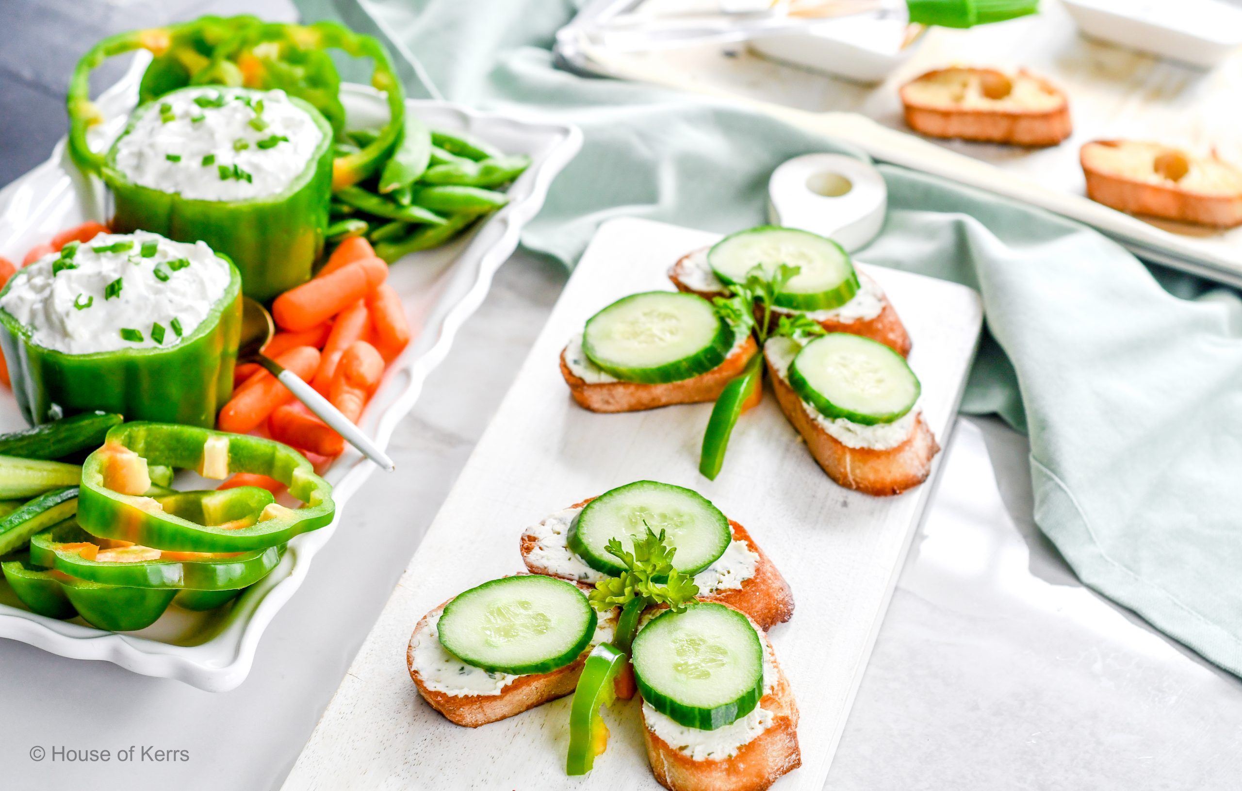 Easy Green Recipes for St. Patrick's Day | Shamrock Shaped Food | HouseofKerrs.com
