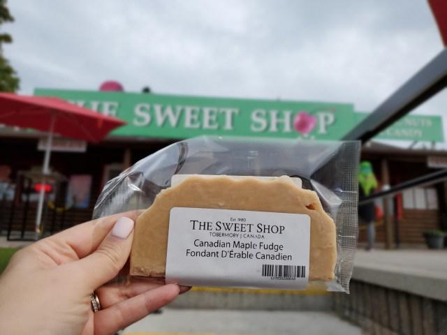 The Sweet Shop Tobermory Fudge
