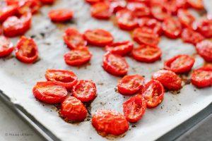 Sheet pan roasted tomatoes