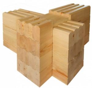 Дървени къщи от слепени греди