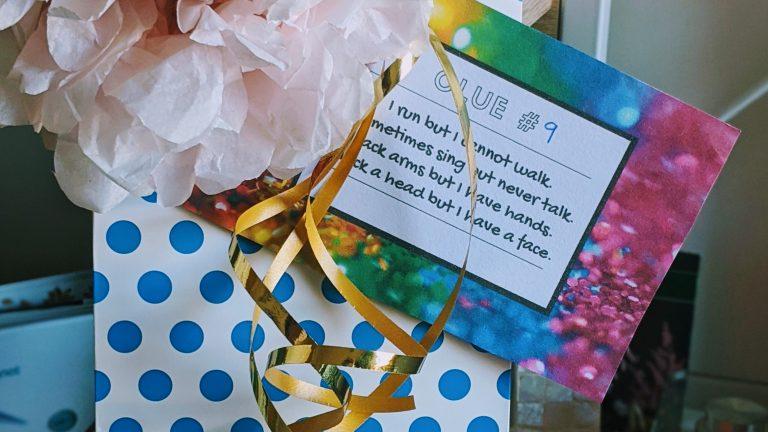 Indoor Birthday Scavenger Hunt Ideas Free Printable Clues House Of Mahalo