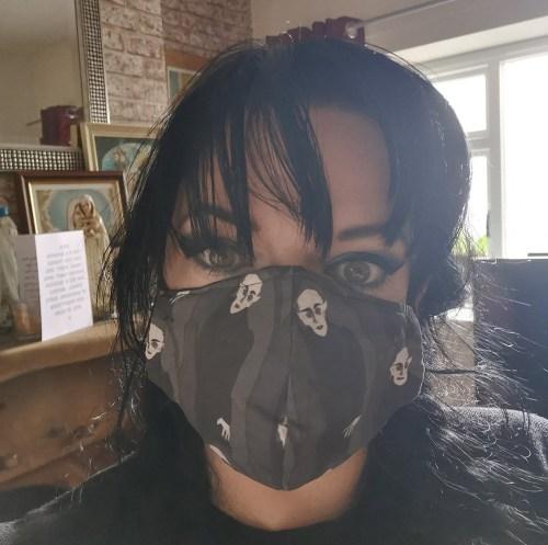 Nosferatu Mask modelled
