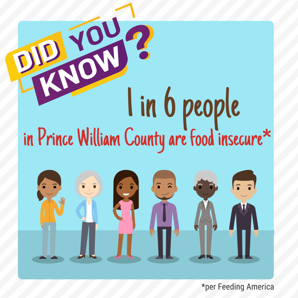 Did You Know? Food Insecurity in Prince William County