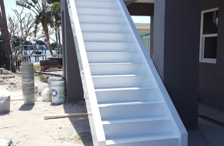 Fabricated Stairs installed