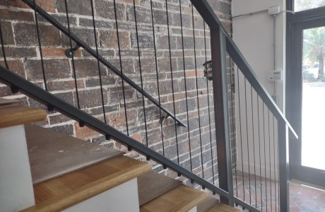 Metal Railing and Bannister