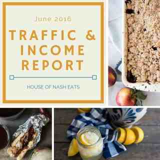 June 2016 Traffic & Income Report