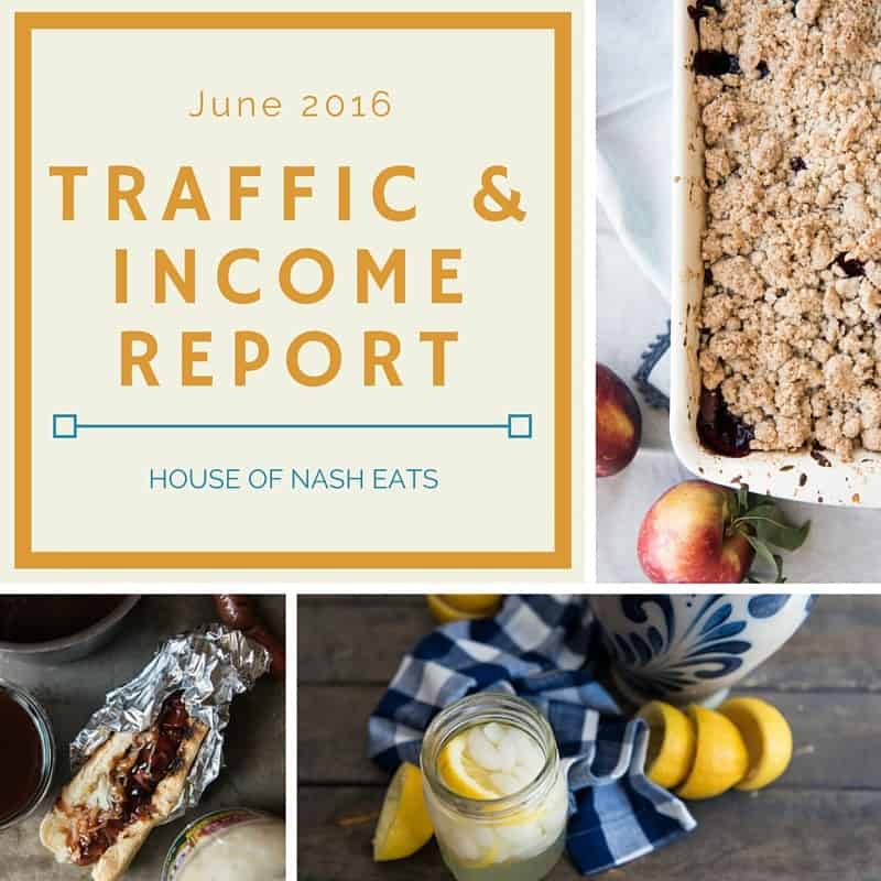 Traffic & Income Report