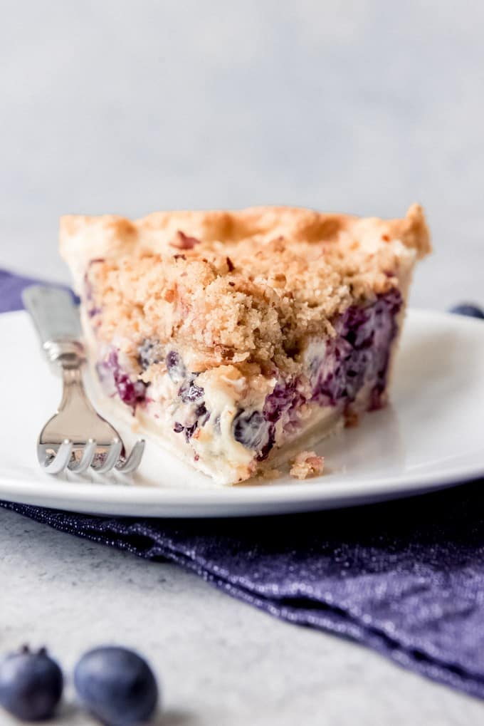 Blueberry Custard. Blueberry Custard Pie