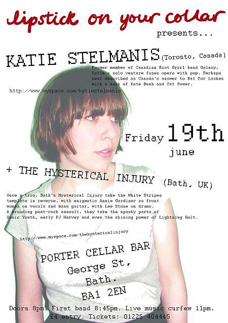 Katie Stelmanis Porter poster