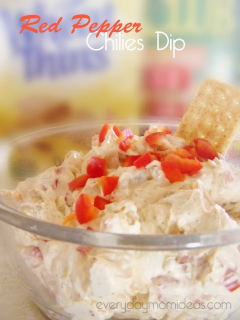 Red Pepper Chilies Dip