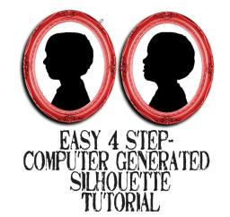 4 step silhoueete tutorial pic